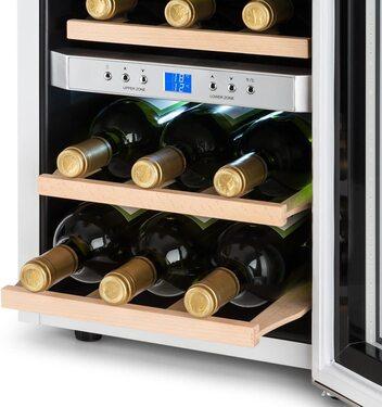 vinoteca 2 zonas de temperatura