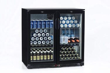 Nevera expositora bebidas 200L