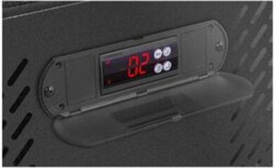 temperatura Vitrina expositor Royal Catering RCGK 458
